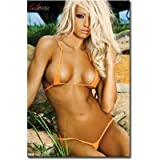 Satio Jenna Webb Fitness Model Photo Print Poster - 22x34 Photography Poster Print, 22x34