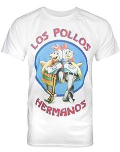 Official Breaking Bad Los Pollos Hermanos Men's T-Shirt