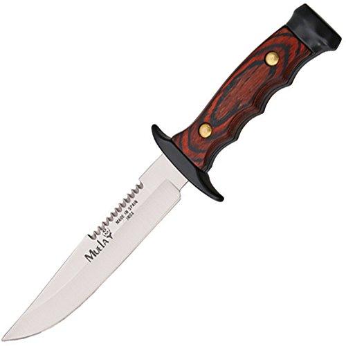 Muela Fixed Blade Sawback Blade, Knife