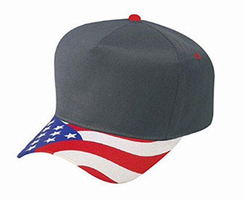 Hats & Caps Shop United States Flag Visor Cn Twill Low Crown Golf Style Caps - By TheTargetBuys