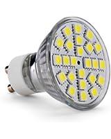 10 X GU10 Ampoule Lampe Spot 5050 SMD 24 LEDs Blanc Nature 6700K 220-240V