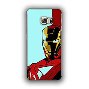 Caseque (Pro) Starboost Iron Man Back Shell Case Cover For Samsung Galaxy S6 Edge
