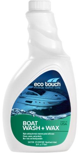 Eco Touch (BWW24) Premium Marine Care Boat Wash + Wax – 24 oz.