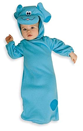 Nickelodeon Toddler Blue's Clues Baby Bunting And Headpiece, 0-9 Months Costume