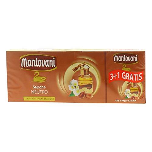 Mantovani Sapone Argan Gr.100 X 4