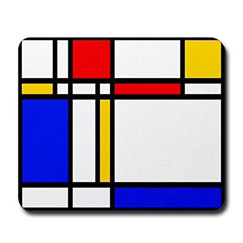 CafePress 'Modern Art' Mousepad - Standard Multi-color
