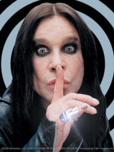 Licenses Products Ozzy Osbourne Shh! Sticker