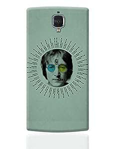 PosterGuy OnePlus 3 Case Cover - John Lennon Peace   Designed by: RJ Artworks