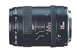 Canon EF 135mm f/2.8 with Softfocus Telephoto Lens for Canon SLR Cameras