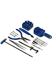 16Pc Watch Repair Kit Blue (Open Watch Backs - Change Bands)