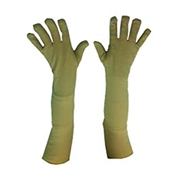 Atyourdoor Long Arm Soild Protective Gloves for Men and Women(LongGloves01)