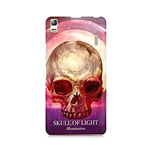 Mobicture Skull Abstract Premium Printed Case For Lenovo A7000