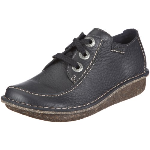 Clarks Funny Dream - Navy Leather Size 6