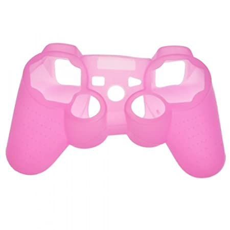 EarlyBirdSavings Brand New Silicone Skin Case Combo for Sony Playstation PS3 Controller Pink