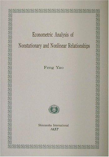 非定常と非線形関係の計量経済分析 (Kagawa University Economic Studies,Monograph Series)