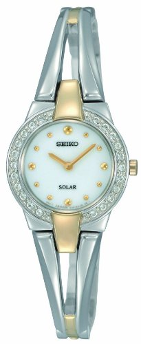 Seiko Ladies Solar Powered Bracelet Watch SUP052P1