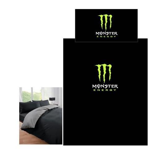 Amazon Com Monster Energy Duvet Set Double Duvet