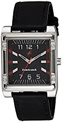 Fastrack Analog Black Dial Mens Watch - NE3040SL02