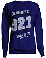 Fast Fashion - Sweatshirt Haut Brooklyn 76 Los Angeles Et Work Out Imprimer Toison - Femmes