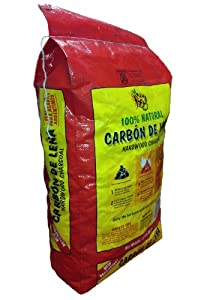 Quebracho QHWC40LB 40-Pound Carbon de Lena Hardwood Charcoal Bag from Kebroak