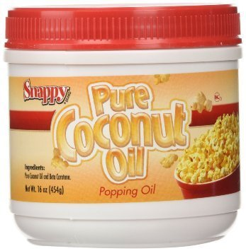 1# Jar Colored Coconut Oil by Snappy Popcorn