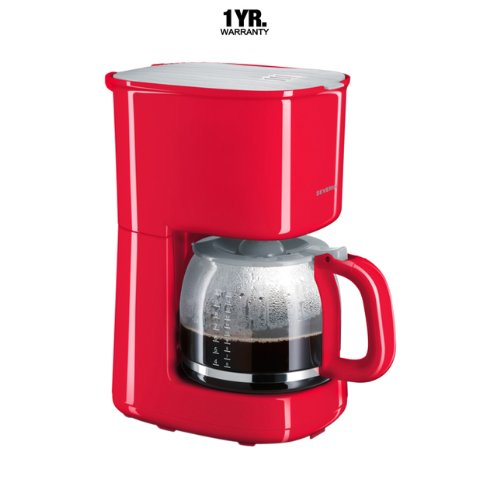 Severin Coffee Maker With Glass Jug (Germany) Ka4214 Red Kerala Online Shop Kerala ...