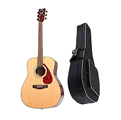 Yamaha F325D Spruce Top Dreadnought Acoustic Guitar w/ Knox Solid Backpack Guitar Bag