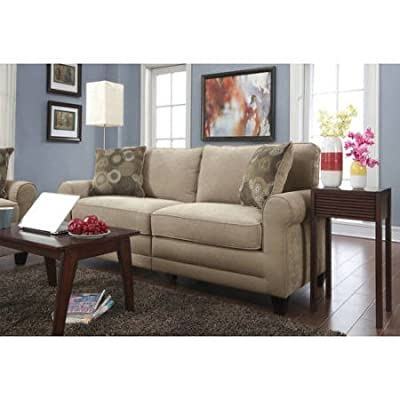 "Serta RTA Copenhagen Collection 73"" Sofa Marzipan"