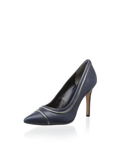 Pour La Victoire Women's Novia Pump  [navy leather]
