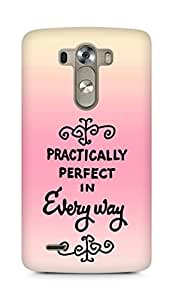 AMEZ practically perfect in every way Back Cover For LG G3