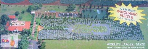Dole Plantation 500pc Panoramic Puzzle