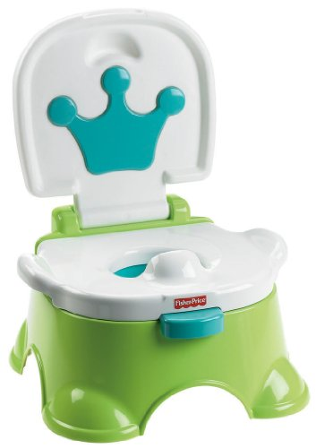 Fisher-Price Royal Stepstool Potty, Royal Blue
