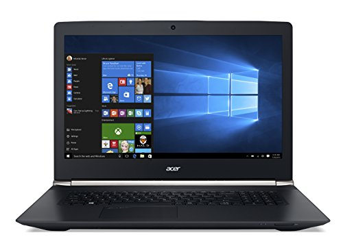 "Acer Aspire V17 Nitro VN7-792G-72KF - Notebook con Windows 10, Processore Intel i7-6700HQ, Ram 8GB DDR4, HDD 1 TB, Display 17.3"" FHD Antiriflesso, Scheda Grafica NVIDIA GeForce GTX 960M 2 GB DDR5, HD Webcam, Bluetooth 4.0, Nero"