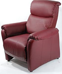 Amazon.com - Designer Modern Home Leather Saloni Recliner 3 ...