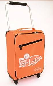 Zframe 18 Wheeled Suitcase Lighter Stronger Better Tangerine