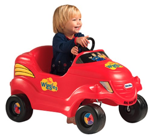 Little Tikes Wiggles Big Red Car