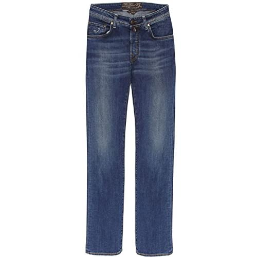 <strong>Jacob Cohen Mid Wash <strong>Jeans Blue