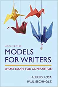 models for writers short essays for composition 10th edition download