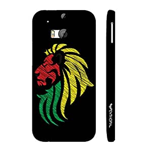 Htc One M8 Singha designer mobile hard shell case by Enthopia