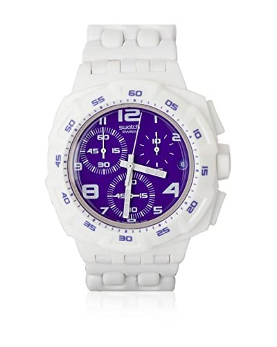 Swatch Reloj de cuarzo Man PURPLEPURITY SUIW404 42 mm