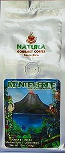 Natura Coffee Monteverde Costa Rican Coffee, Ground Medium Roast 12 oz bag