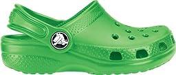 crocs Kid\'s Classic Clog 10006,Lime,C6C7 Toddler
