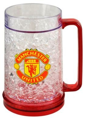 Man Utd Crest Freezer Tankard