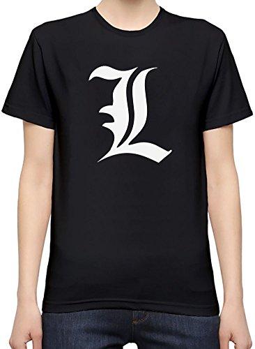Death Note L T-Shirt per Donne Medium