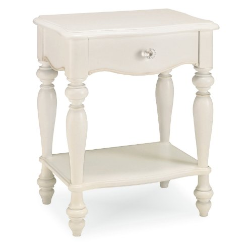 Cheap Lea 134-411 Vintage Boutique Leg Kid Nightstand in Vintage White 134-411 (134-411)