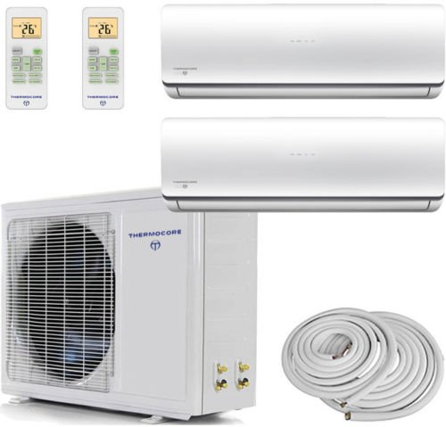 Review Of Thermocore Systems Dual-Zone ENERGY STAR Ductless MiniSplit Heat Pump Air Conditioner (120...