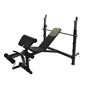 Amber Sports Olympic Weight Training Bench