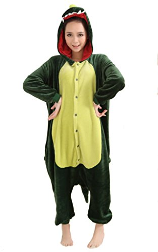 QinYing Unisex-adult Kigurumi Onesie Pajamas Party Cosplay Costumes
