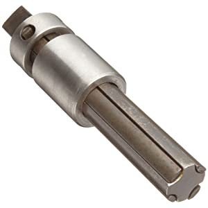 """Walton 20504 1/2"""", 4 Flute Pipe (NPT) Tap Extractor With Square Shank"""