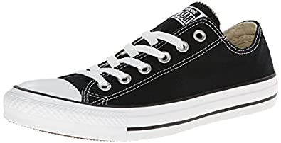 Converse Chuck Taylor All Star Core Ox, Baskets mode mixte adulte - Noir, 35 EU